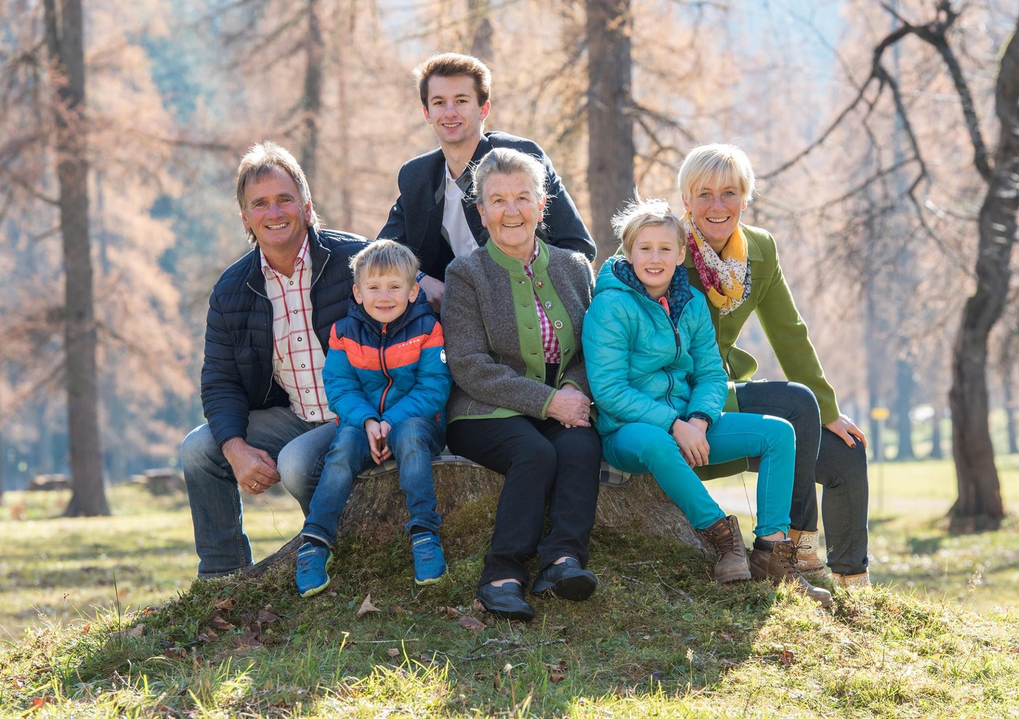 Ihre Gastgeberfamilie Royer-Postl